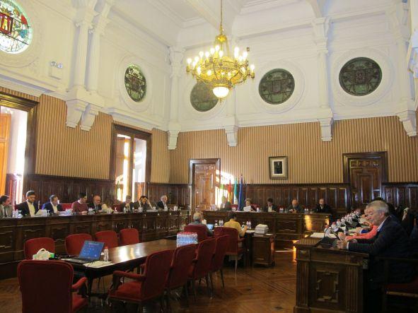 Pleno de la Diputación de Jaén