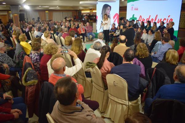 Susana Díaz en Andújar
