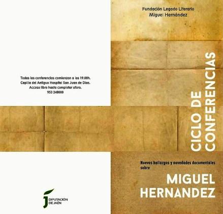 conferencias sobre Miguel Hernández
