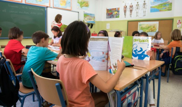 escolarización en Andalucía