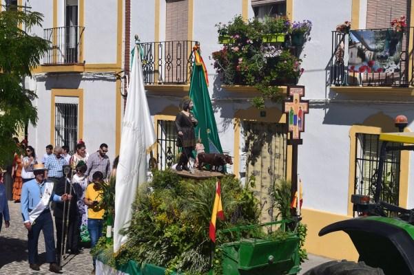 Romería de San Isidro en Lopera