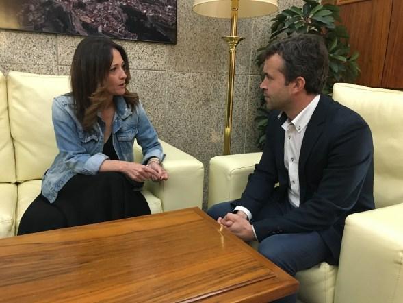 Maribel Lozano y Julio Millán