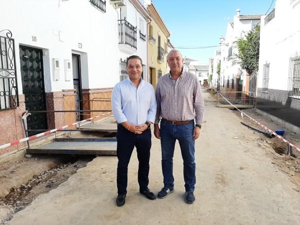 Obras en las calles Ana Pedrajas y Severo Ochoa