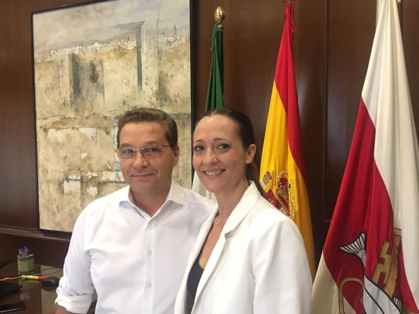 Maribel Lozano en Andújar