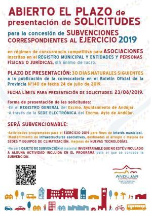 Ayudas del Ayuntamiento de Andújar