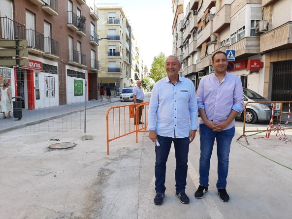 Calle La Palma de Andújar