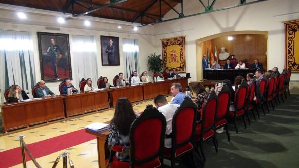 Pleno del Ayuntamiento de Linares
