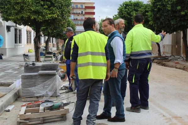 Obras en Andújar