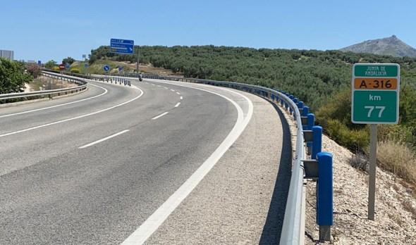 Carreteras en Andalucía