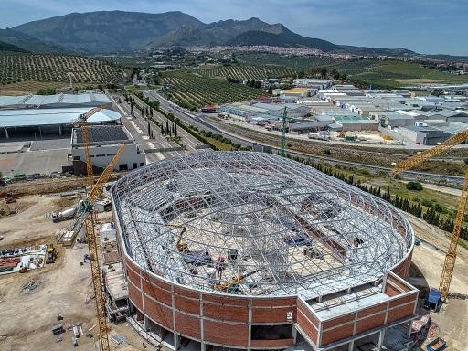 Las obras del palacio de deportes Olivo Arena se encuentran al 40% de su ejecución.