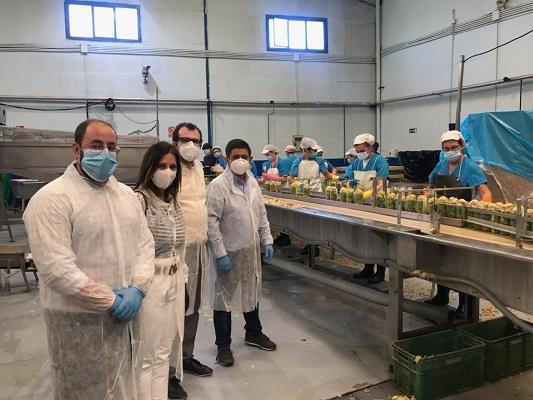 Diputación de Jaén concede un incentivo de 358.000 euros a la empresa «Congana» para la creación de 20 nuevos puestos de trabajo.