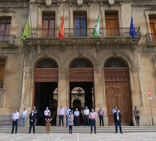 La Diputación de Jaén se suma al luto oficial por las víctimas del Covid-19 decretado por el Gobierno de España.