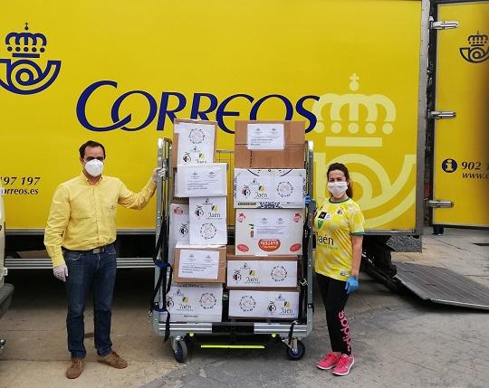 18 oficinas de Correos en Andalucía han enviado 95.000 elementos de protección a centros sanitarios y residencias de mayores de toda España.