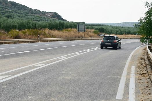 La Junta licita la actualización del proyecto de la Autovía del Olivar entre Martos y Alcaudete.