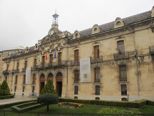 La Diputación se suma mañana al Día de la Enfermería iluminando el Palacio Provincial de azul.