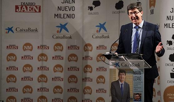 Juan Marín resalta la apuesta por el empleo en Jaén con la inversión de casi 17 millones del Plan AIRE.
