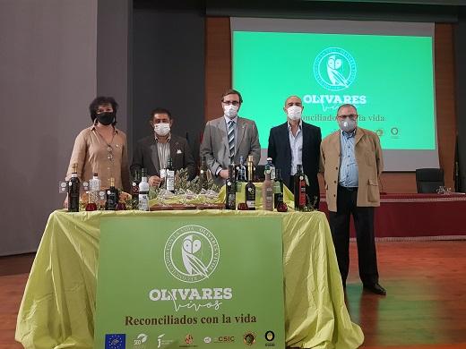 Nueve AOVEs jiennenses cuentan con el sello Olivares Vivos, proyecto en el que colabora la Diputación.