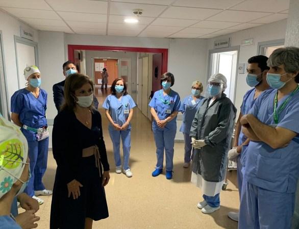 Enfermeras ante el Covid