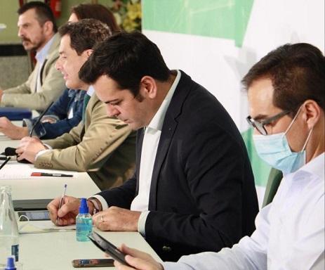 Requena celebra que Juanma Moreno haya elegido Jaén para la primera Junta Directiva tras el estado de alarma.