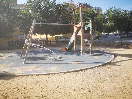 Andalucía por Sí denuncia el abandono por parte del Ayuntamiento de Andújar del Parque de la Lagunilla.
