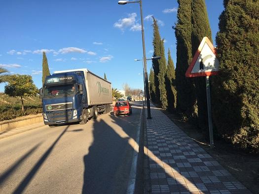 Vuelven las restricciones a la circulación para los vehículos de transporte de mercancías.