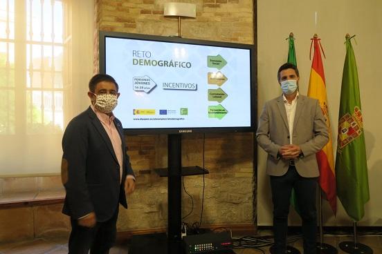 Diputación lanza la segunda convocatoria de ayudas del Programa Reto Demográfico que suman 3,8 millones de euros.
