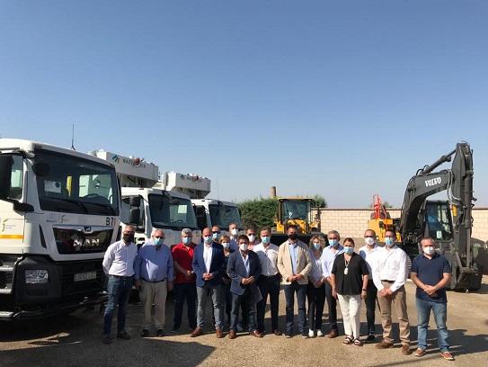 La recogida y tratamiento de residuos en la provincia incorpora seis nuevos equipos.