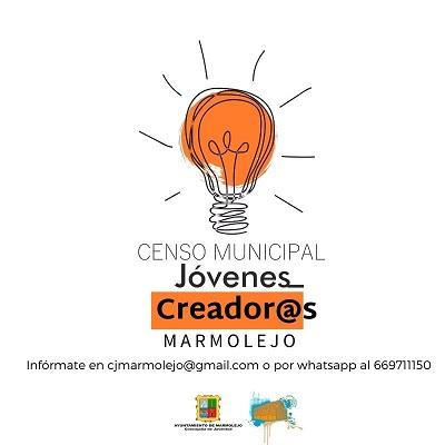El Ayuntamiento de Marmolejo pone en marcha el «Censo de jóvenes creadores».