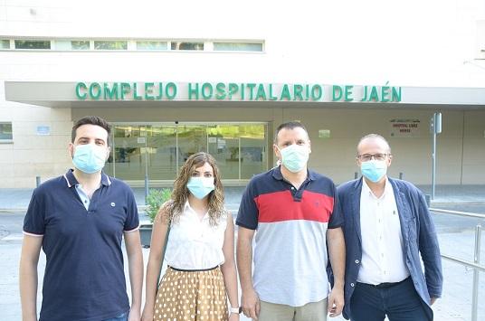 Especialistas del Hospital de Jaén publican un estudio sobre embarazadas con Covid-19.