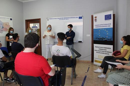 El Ayuntamiento de Andújar comienza una nueva formación de 60 horas de Aplicación de Plaguicidas y Productos Fitosanitarios a través de la Línea 9 de EDUSI.