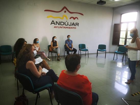 El Ayuntamiento de Andújar constituye la Comisión Técnica de la Formación para el Empleo con el objetivo de impulsar y desarrollar las políticas municipales en esta materia.
