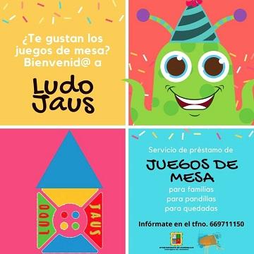 El Ayuntamiento de Marmolejo pone en marcha Ludojaus, nuevo servicio de préstamo de juegos de mesa.