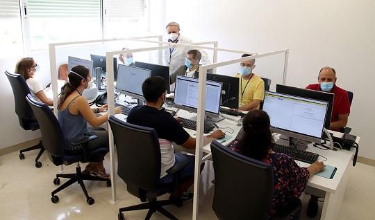 Salud pone en marcha dos centros telefónicos para identificación de contactos de casos de Covid-19.