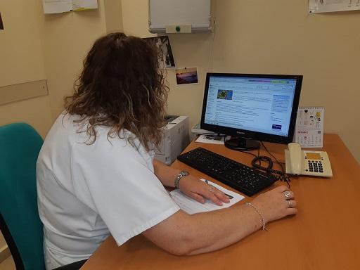 La Agencia Sanitaria Alto Guadalquivir facilita más de 10.000 gestiones telemáticas a sus profesionales desde el inicio de la pandemia.