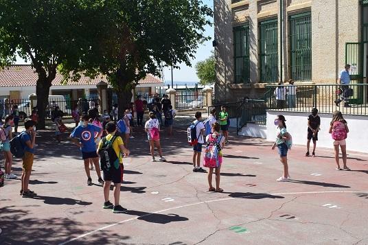 58.215 escolares regresan a las aulas de Jaén en Infantil, Primaria y Educación Especial.