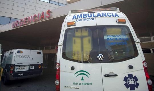 Una colisión entre dos turismos en Mengíbar se salda con seis heridos.