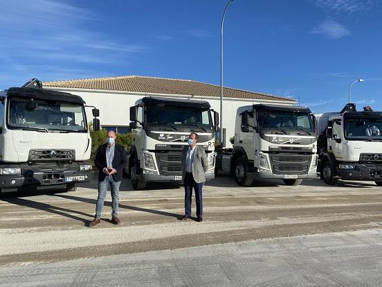 Resurja, empresa mixta participada por Diputación, invierte otros 381.000 euros en la mejora de su flota.