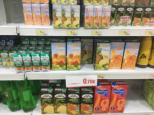 Consumo realizará este año más de mil controles de etiquetado y calidad de productos de alimentación.