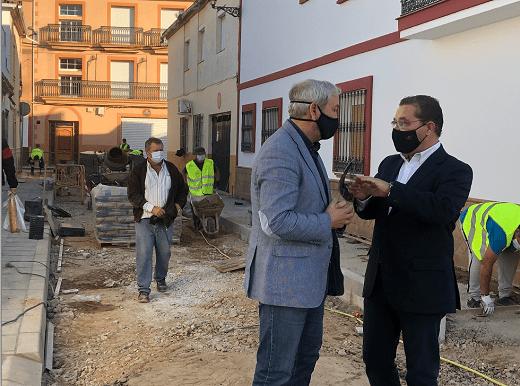 Prosiguen las intervenciones de mejora en el municipio impulsadas por el Ayuntamiento de Andújar.