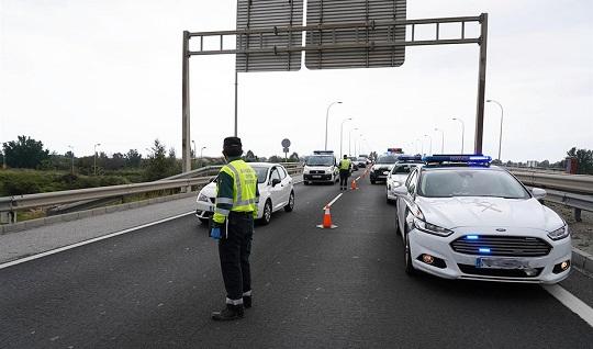 Muere un hombre atropellado al cruzar la autovía A-44 en Noalejo (Jaén).