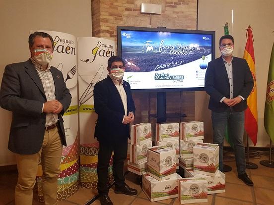 La Fiesta Virtual del Primer Aceite de Jaén acoge desde hoy el Mercado Navideño Degusta Jaén.