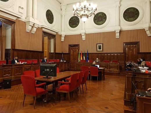 """La Diputación aprueba un """"presupuesto expansivo"""" de casi 270 millones de euros que incluye 59 en inversiones."""