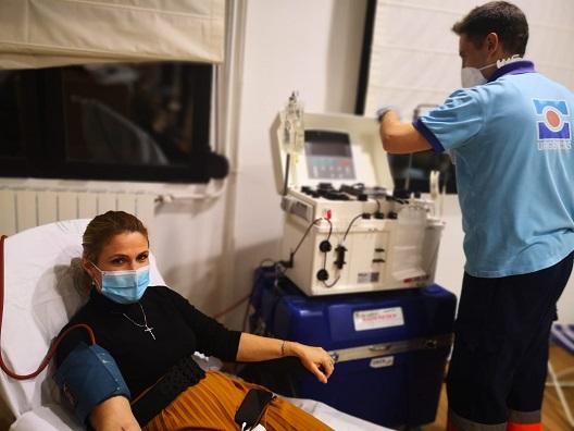 Los jiennenses donan 17.400 bolsas de hemoderivados hasta noviembre.
