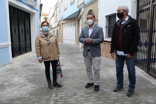 El Ayuntamiento de Andújar sigue impulsando la regeneración y la mejora de las infraestructuras del municipio.