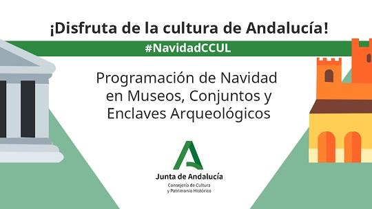 Planes navideños en los museos y conjuntos de Andalucía.