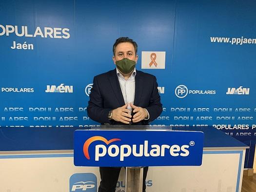 El PP de Jaén presenta enmiendas a los presupuestos de la Junta y logra que se incremente en 5,3 millones los recursos para la provincia en 2021.