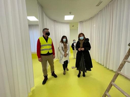 Salud y Familias mejora el Centro de Transfusión Sanguínea de Jaén.