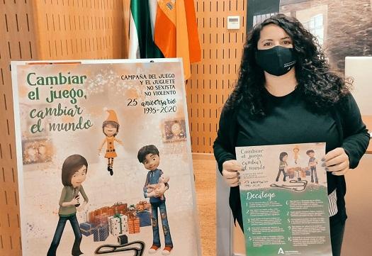 El IAM lanza en Jaén la campaña 'Cambiar el juego, cambiar el mundo' para concienciar sobre la elección de los juguetes.
