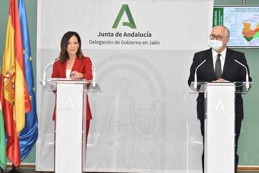 Fomento invierte 25 millones en las carreteras de Jaén en 2020 con contratos a 57 empresas.