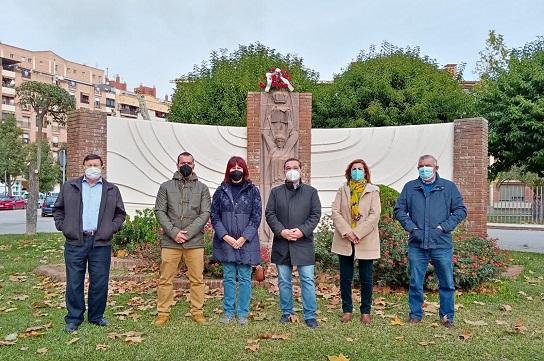 La Agrupación Municipal del PSOE de Andújar celebra el Día de la Constitución.